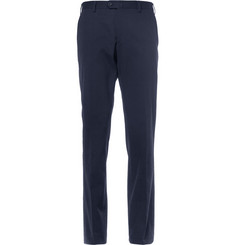 Loro Piana - Regular-Fit Cotton-Blend Twill Trousers