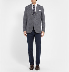 Loro Piana Regular-Fit Cotton-Blend Twill Trousers