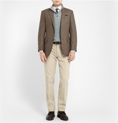 Loro Piana Regular-Fit Woven-Cotton Chinos