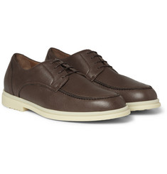 Loro Piana Downtown Leather Derby Shoes