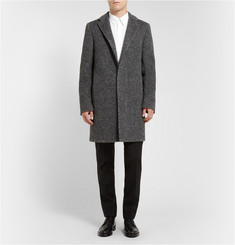 Calvin Klein Collection Angora and Wool-Blend Overcoat