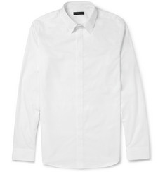 Calvin Klein Collection Slim-Fit Cotton-Poplin Shirt