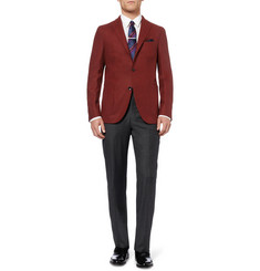 Boglioli Slim-Fit Unstructured Woven-Wool Blazer