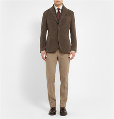 Boglioli Dover Slim-Fit Unstructured Cotton-Felt Blazer