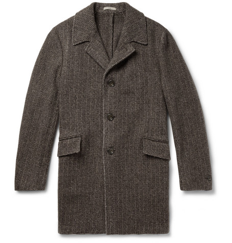 Boglioli Wool, Camel and Cashmere-Blend Overcoat