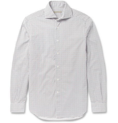 Boglioli Slim-Fit Printed Cotton Shirt