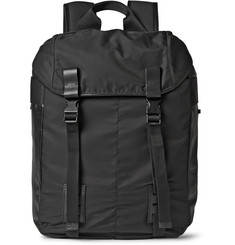 Lanvin Leather-Trimmed Backpack