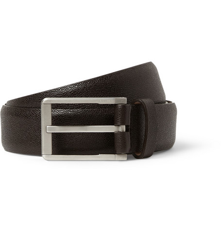 Lanvin Brown 3cm Leather Belt