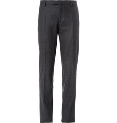 Faconnable Regular-Fit Wool-Flannel Trousers