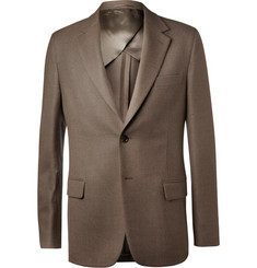 Faconnable Unstructured Wool-Hopsack Blazer