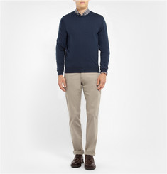 Faconnable Fine-Knit Wool Sweater