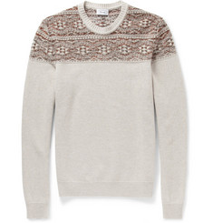 Faconnable Panelled Wool Sweater