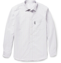 Faconnable Striped Cotton-Oxford Shirt