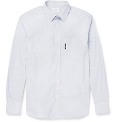 Faconnable Check Cotton-Blend Poplin Shirt