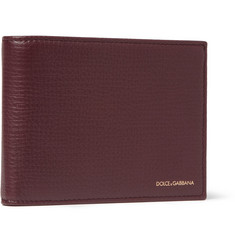 Dolce & Gabbana Full-Grain Leather Billfold Wallet