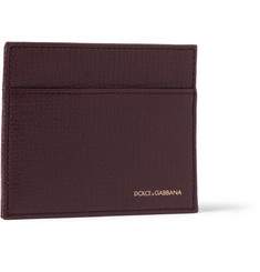 Dolce & Gabbana Leather Cardholder