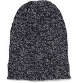 Dolce & Gabbana - Marled Cashmere and Wool-Blend Beanie Hat