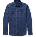 Burberry - Washed-Denim Shirt