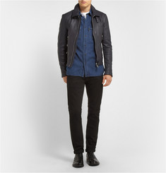 Burberry Brit Regular-Fit Washed-Denim Shirt