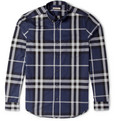 Burberry Brit - Check Cotton Button-Down Collar Shirt