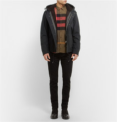 Burberry Brit Shearling-Lined Bonded-Cotton Parka