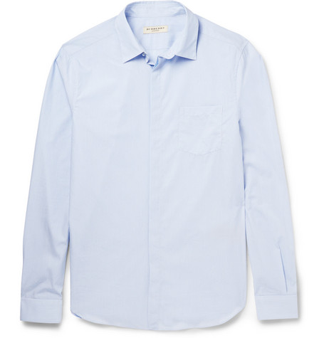 Burberry London Regular-Fit Striped Cotton Shirt