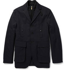 Burberry London Huntswood Tech-Canvas Jacket and Quilted Gilet