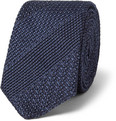 Burberry London - Patterned Woven-Silk Tie