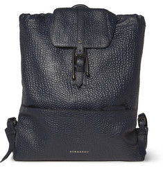 Burberry Shoes & Accessories Full-Grain Leather Backpack