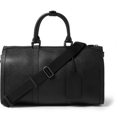 Burberry Shoes & Accessories Textured-Leather Holdall