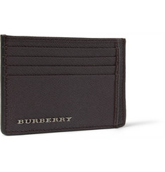 Burberry Shoes & Accessories Cross-Grain Leather Cardholder
