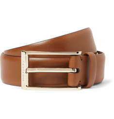 Burberry Shoes & Accessories Brown 3cm Leather Belt