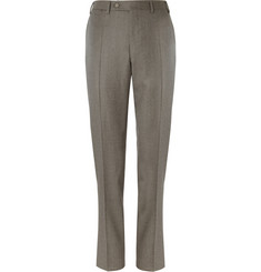 Canali Regular-Fit Wool-Flannel Trousers