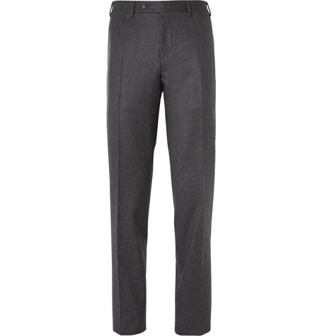 Canali Wool-Flannel Trousers