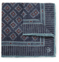 Canali - Printed Wool Pocket Square