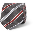 Canali - Striped Wool and Silk-Blend Tie