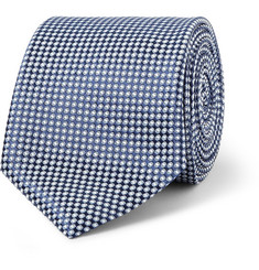 Canali Patterned Silk Tie