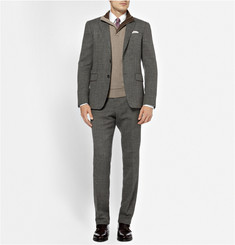 Canali Zip-Collar Wool and Cashmere-Blend Sweater