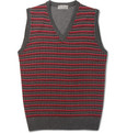 Canali - Patterned Sleeveless Merino Wool Sweater