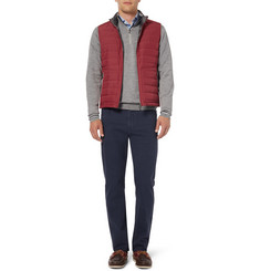 Canali Regular-Fit Garment-Dyed Stretch-Cotton Jeans
