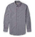 Canali - Check Cotton Button Down Collar Shirt