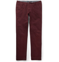 NN.07 Simon Regular-Fit Brushed Cotton-Twill Chinos