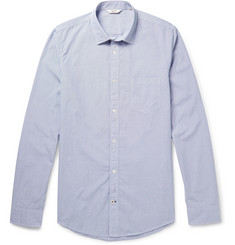 NN.07 Frede Check Cotton-Poplin Shirt