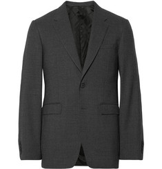 Burberry London Grey Millbank Wool Suit Jacket