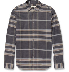 Burberry London Check Brushed-Cotton Shirt