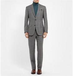 Brioni Fine-Knit Wool and Silk-Blend Rollneck Sweater