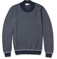 Brioni - Patterned Knitted Cashmere and Silk-Blend Sweater