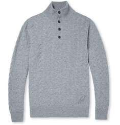 Brioni Knitted-Cashmere Sweater