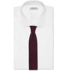 Brioni Reversible Silk and Cashmere Tie