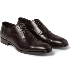 Brioni Leather Oxford Shoes